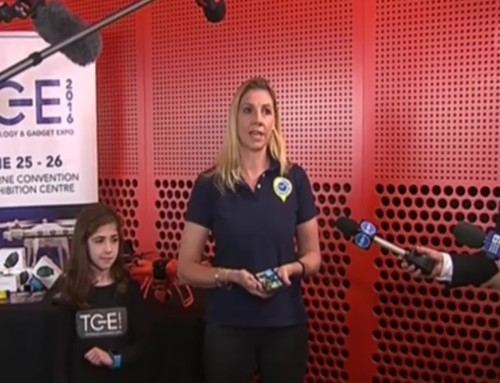 TicTocTrack featured on Channel 7, 9 & 10 News as part of Tech & Gadgets Expo
