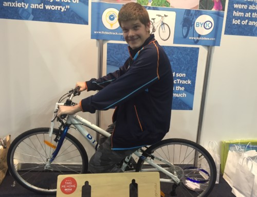 Congratulations to Bradley – Winner of BYK Bike at Gadget Expo