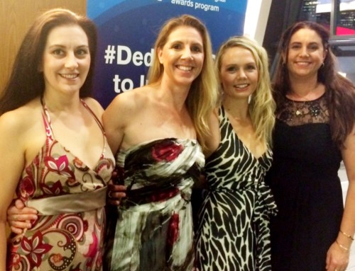 TicTocTrack Team at QLD iAwards